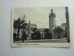 CPA - LIBYE LIBYA / LIBIA - BENGHAZI / BENGASI  -  AFRICA ITALIANA - PIAZZA 28 OTTOBRE - Libyen