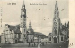 Belgique - Saint-Trond - Nels Série 66 N° 4 : Le Beffroi Et Notre Dame - Sint-Truiden