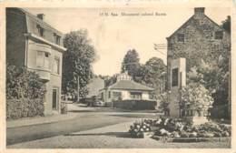 Belgique - Spa : Monument Colonel Bastin - Spa