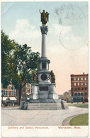 MA - WORCESTER , Soldiers And Sailors Monument - Worcester