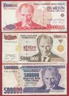 Turquie 10 Billets Dans L 'état - Turquia
