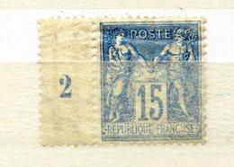 TIMBRE FRANCE N°101 TYPE SAGE ...NEUF MILLESIME ...2éme Choix - 1876-1898 Sage (Type II)