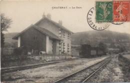 71 CHATENAY  La Gare - France