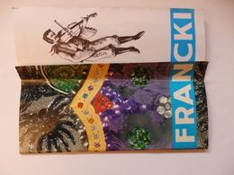 Programme Du Cirque Francki De 1963. Présentation Du Cirque Officiel De Hongrie Et Du Célèbre Orchestre Tzigane. - Andere Sammlungen