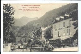 AULUS - Hôtel Des Bains Et Grand Café MARIS - Vers 1914 - Autres Communes
