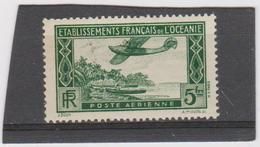 COLONIES FRANCAISES OCEANIE (POLYNESIE) 1 T Neuf X - N° YT PA 1 - 1934 - Océanie (Établissement De L') (1892-1958)