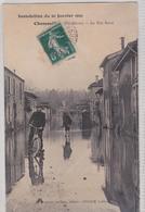 Chamouilley - Inondation 1910 - La Rue Basse - France