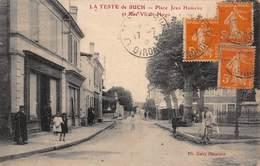 CPA LA TESTE DE BUCH - Place Jean Hameau Et Rue Victor Hugo - France