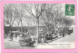 80 AMIENS - Marché à Rederie - Place Dewailly - Amiens