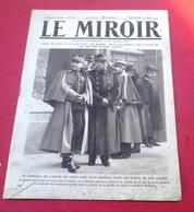 WW1 Le Miroir N°68 Mars 1915 Général De Langle De Cary,Blessés Gare Flessingue,Espion Arrété Hauts De Meuse - Books, Magazines, Comics