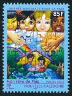 NOUV.-CALEDONIE 2005 - Yv. 953 **   Faciale= 0,71 EUR - Journée De La Paix. Dessin D'enfant Rêve De Paix  ..Réf.NCE25580 - New Caledonia