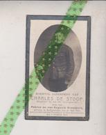 Charles De Stoop-Goessaert, Nederzwalm 1890, Oost-nieuwkerke 1918. Korporaal 14e Linieregiment - Overlijden