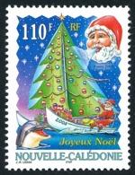 NOUV.-CALEDONIE 2005 - Yv. 958 **   Faciale= 0,92 EUR - Père Noël En Bateau à Voile-sapin, Dauphin  ..Réf.NCE25583 - New Caledonia