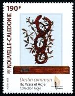 NOUV.-CALEDONIE 2005 - Yv. 959 **   Faciale= 1,59 EUR - Art. Sculpture Destin Commun  ..Réf.NCE25584 - New Caledonia
