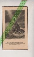 Eliza De Coninck-De Vos, Velzeke 1867, Hundelgem 1941 - Overlijden