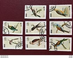 DHUFAR 1972 3 Séries Complètes 24 V Oblitérés Birds Of Dhufar Oman - Parrots
