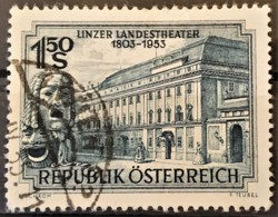 AUSTRIA 1953 - Canceled - ANK 997 - Linzer Landestheater - 1945-60 Oblitérés