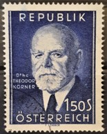 AUSTRIA 1953 - Canceled - ANK 995 - Theodor Körner - 1945-.... 2. Republik