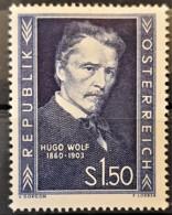 AUSTRIA 1953 - MLH - ANK 994 - Hugo Wolf - 1945-.... 2. Republik