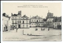 Montbazon Place De L'hotel De Ville - Montbazon