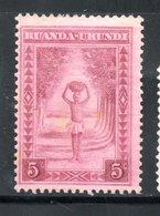 YT 111 NEUF * - Ruanda-Urundi