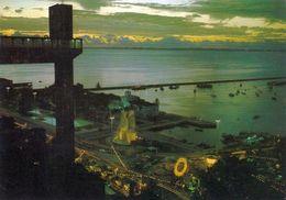 1 AK Brasilien * Salvador - Links Auf Der Karte Der Elevador Lacerda Er Verbindet Die Unterstadt Mit Der Oberstadt * - Salvador De Bahia