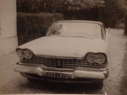 2 Photos (12cm/9cm) D'une Voiture Américaine Décapotable. - Automobiles