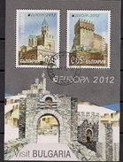 2012 BULGARIA / BULGARIEN  Mi. Bl. 354 Used Europa : Besuche - Europa-CEPT