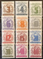 SOWJETISCHE BESATZUNGSZONE 1946 - MNH - Mi 138-149 - Complete Set! - Volkssolidarität - Sowjetische Zone (SBZ)