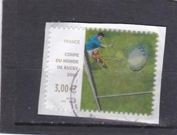 4080 Oblitéré Rond (2007)Coupe Du Monde De Rudby - Usati