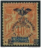 Nouvelle Caledonie (1903) N 77 * (charniere) - Nouvelle-Calédonie