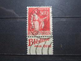 "VEND BEAU TIMBRE DE FRANCE N° 283 TYPE IIA + PUBLICITE "" BLEDINE "" , OBLITERATION "" ST-MALO "" !!! - Advertising"