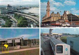 1 AK Brasilien *  São Paulo - Congonhas Airport, Bus Terminal Station, Luz Railway Station, Subway * - São Paulo