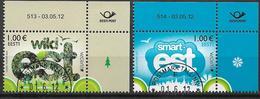 2012 Estland Esti Mi. 733-4 Used  Europa - 2012