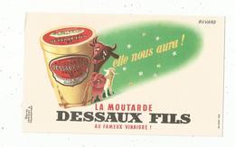 Buvard , La Moutarde DESSAUX FILS , Frais 1.55 E - Alimentare
