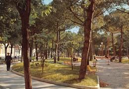 Cartolina Senigallia Villa Comunale Giardini Animata - Ancona