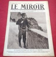WW1 Le Miroir N°78 Mai 1915 Gabriele D'Annunzio ,Survivants Lusitania,Entrée En Guerre Italie,Piton De Vauquois - 1900 - 1949