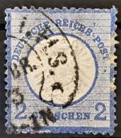 DEUTSCHES REICH 1872 - Canceled - Mi 20 - Grosses Brustschild 2g - Gebruikt