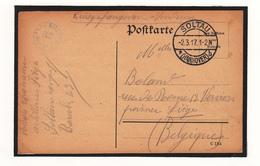 Carte Prisonnier De Guerre 1916  Camp De  SOLTAU - Guerra '14-'18