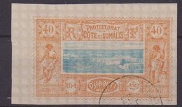 COTE DES SOMALIS : N° 14 . OBL . TB . 1894/00 .  ( CATALOGUE YVERT ) . - French Somali Coast (1894-1967)