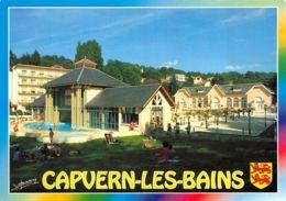Capvern Les Bains (65) - Le Casino Et La Piscine - Frankrijk
