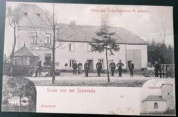 * Gruss Aus Der Schmiede - Zollgebäude - Hôtel Des 3 Frontières M. Linkels - Cartes Postales
