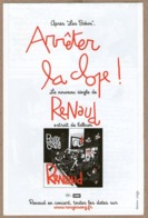 Renaud (chanteur) - Arrêtez La Clope, Nouveau Single - Illustration : Killoffer - Vecchi Documenti