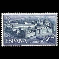 MONASTERIO POBLET - AÑO 1963 - Nº EDIFIL 1496 - 1931-Hoy: 2ª República - ... Juan Carlos I