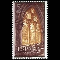 MONASTERIO POBLET - AÑO 1963 - Nº EDIFIL 1497 - 1931-Hoy: 2ª República - ... Juan Carlos I