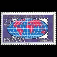 DIA MUNDIAL SELLO - AÑO 1963 - Nº EDIFIL 1509 - 1931-Hoy: 2ª República - ... Juan Carlos I