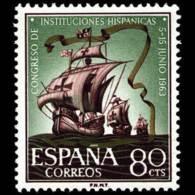 CONG.I.HISPANICAS - AÑO 1963 - Nº EDIFIL 1514 - 1931-Hoy: 2ª República - ... Juan Carlos I