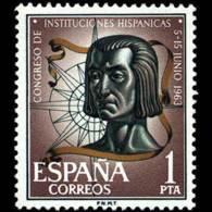 CONG.I.HISPANICAS - AÑO 1963 - Nº EDIFIL 1515 - 1931-Hoy: 2ª República - ... Juan Carlos I