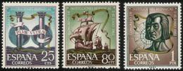 CONG.I.HISPANICAS - AÑO 1963 - Nº EDIFIL 1513-15 - 1931-Hoy: 2ª República - ... Juan Carlos I