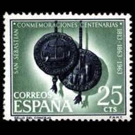 CENT.S.SABASTIAN - AÑO 1963 - Nº EDIFIL 1516 - 1931-Hoy: 2ª República - ... Juan Carlos I